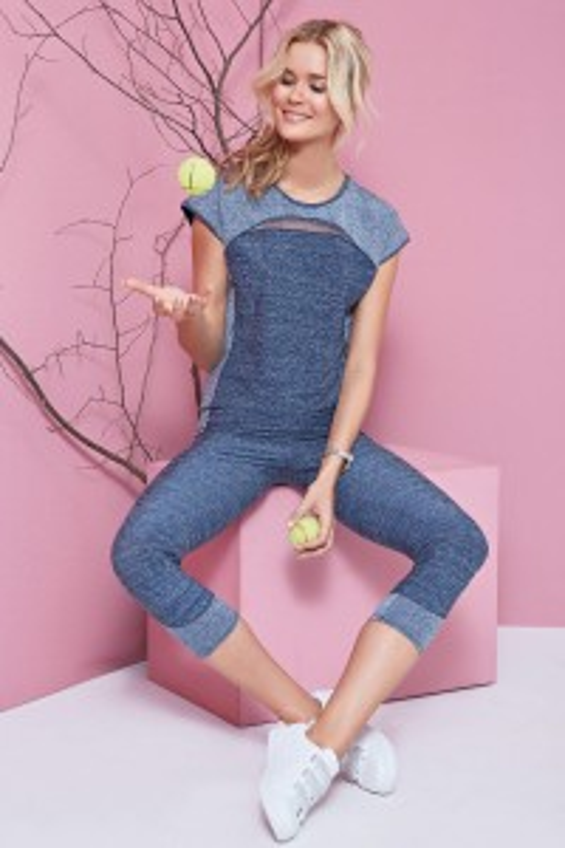 """Miss Sporty"" Sportske kapri hlače"